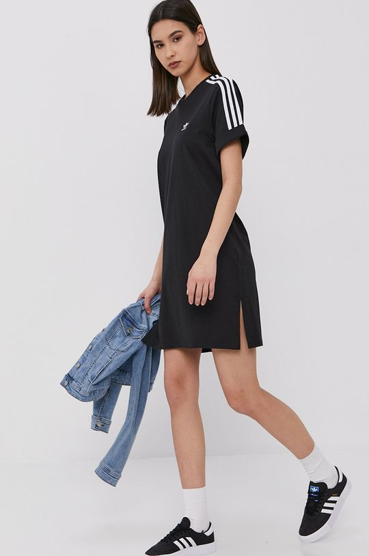 čierna adidas Originals - Šaty