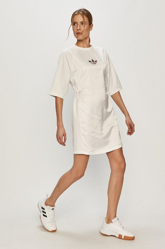 adidas Originals - Sukienka biały