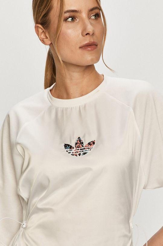 biały adidas Originals - Sukienka