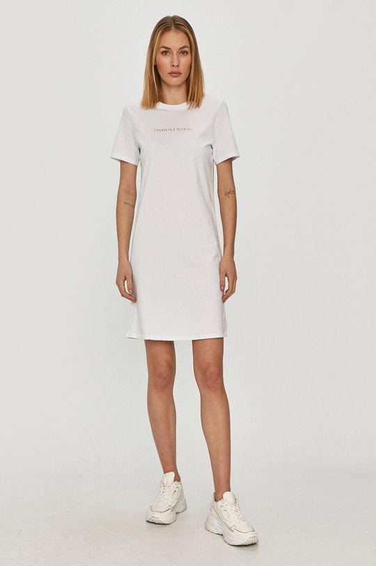 Armani Exchange - Šaty biela