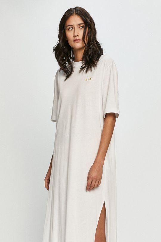Armani Exchange - Sukienka biały