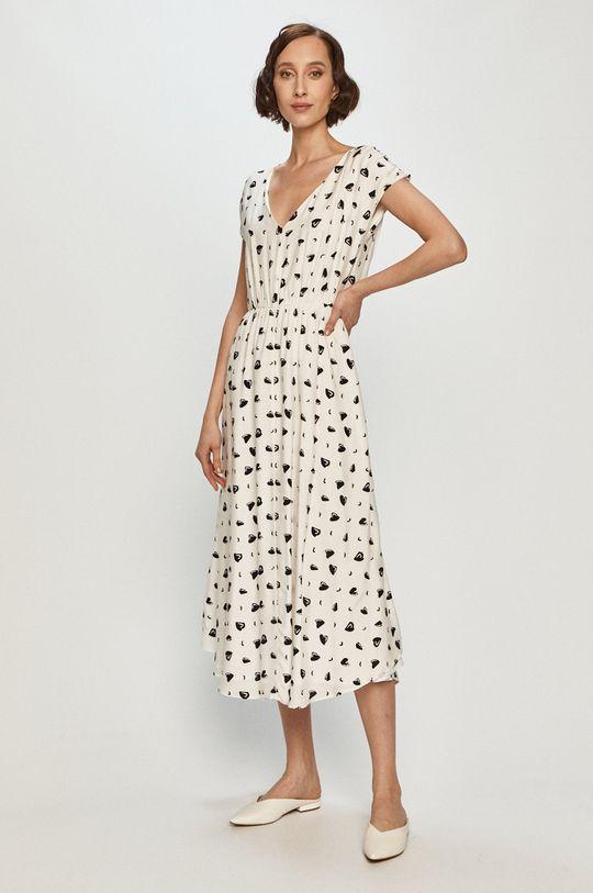 biały Armani Exchange - Sukienka Damski