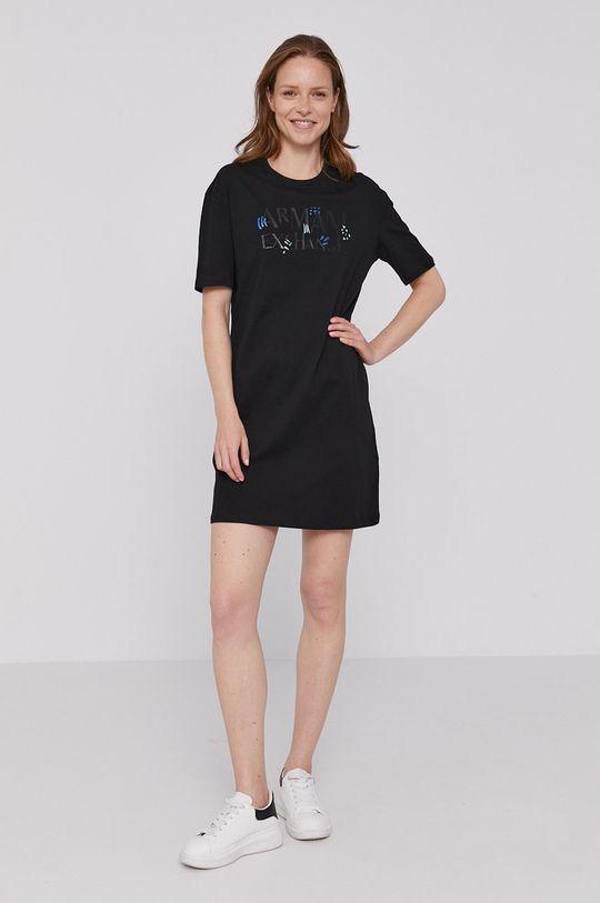 Armani Exchange - Šaty černá
