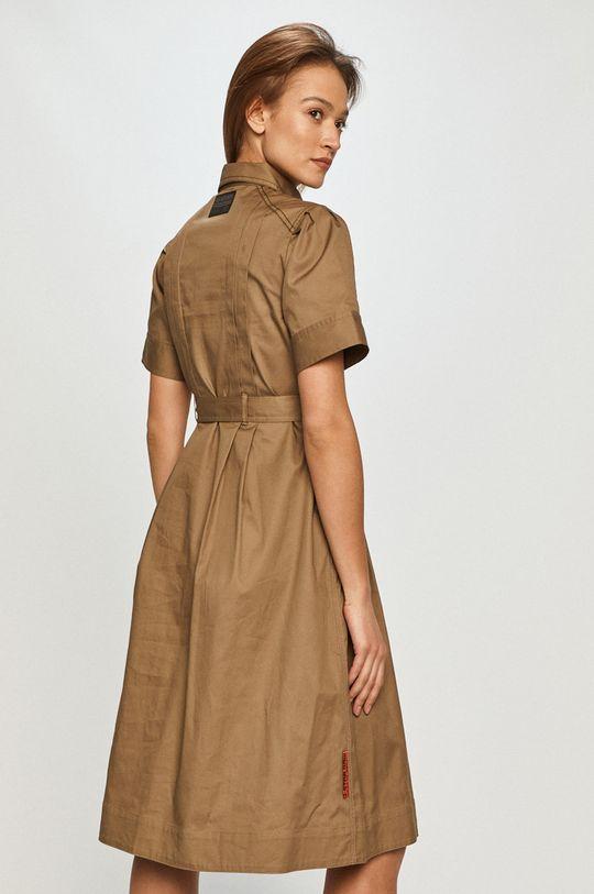 G-Star Raw - Sukienka 100 % Bawełna