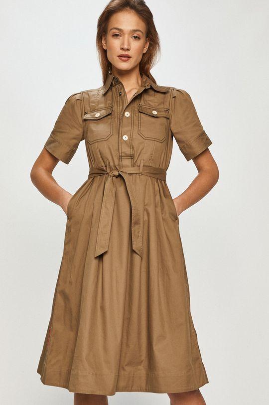 oliwkowy G-Star Raw - Sukienka