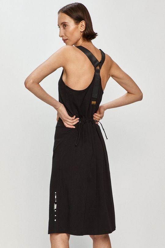 čierna G-Star Raw - Šaty Dámsky