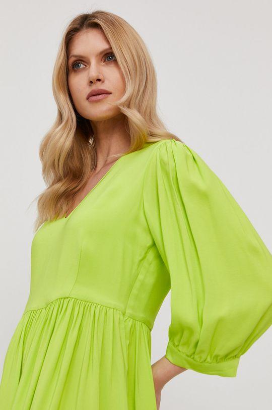 žlto-zelená Twinset - Šaty Dámsky