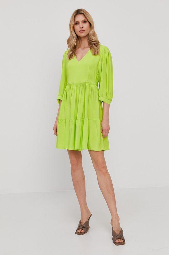 Twinset - Šaty žlto-zelená
