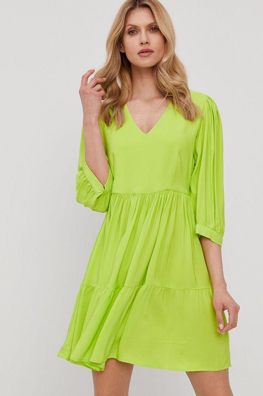 žlto-zelená Twinset - Šaty