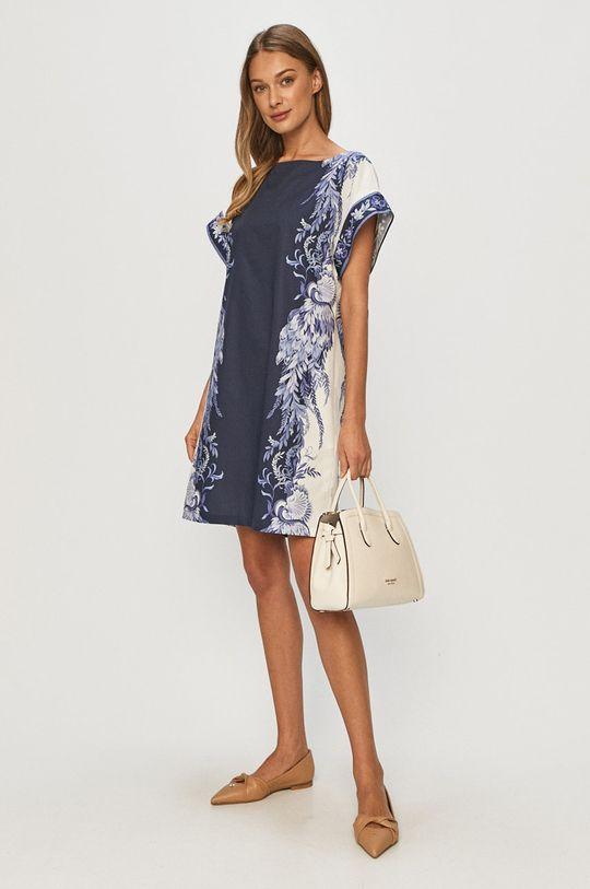 Twinset - Sukienka granatowy