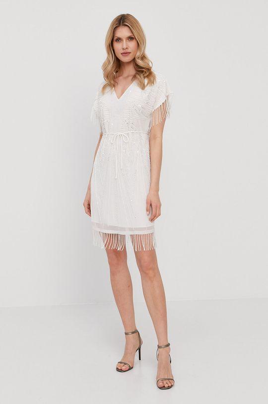 Twinset - Šaty bílá