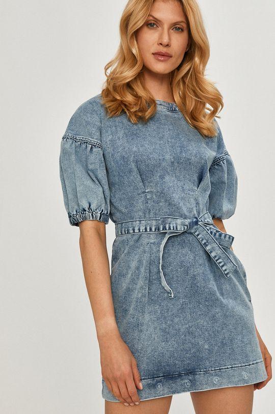 Twinset - Sukienka jeansowa niebieski