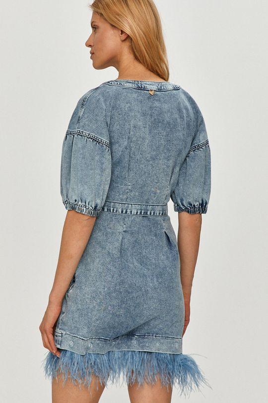 Twinset - Sukienka jeansowa Podszewka: 35 % Bawełna, 65 % Poliester, Materiał 1: 98 % Bawełna, 2 % Elastan