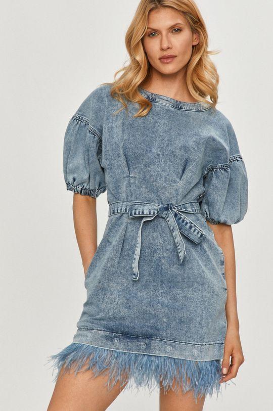 niebieski Twinset - Sukienka jeansowa