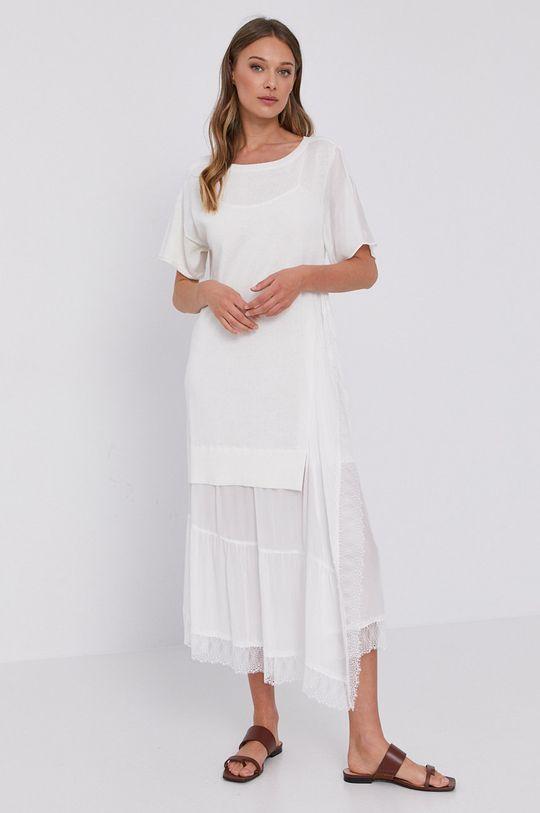 Twinset - Sukienka cielisty