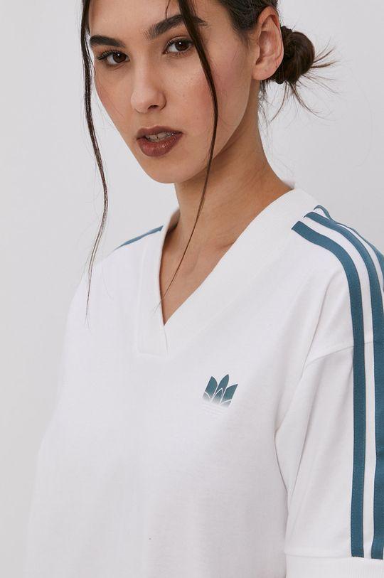 alb adidas Originals - Rochie