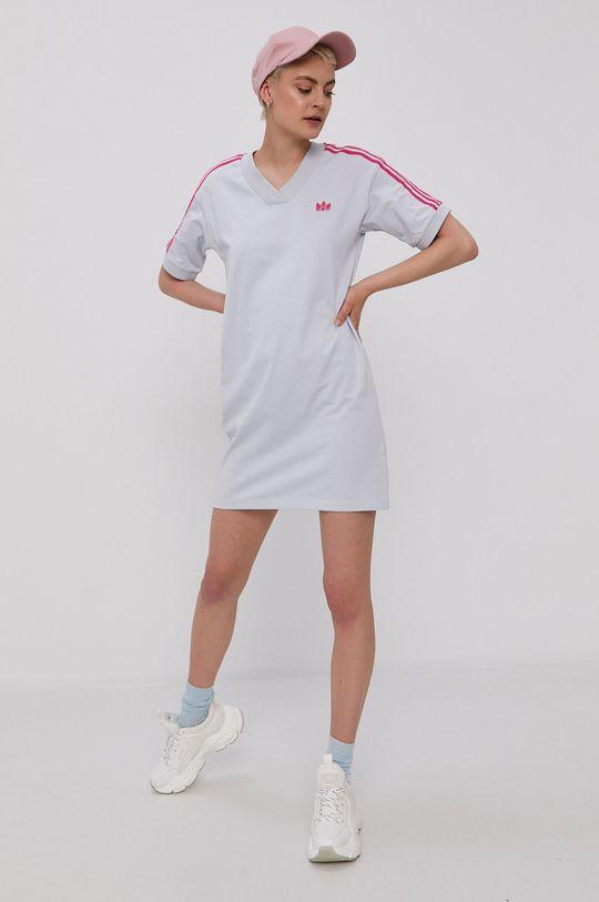 adidas Originals - Šaty bledomodrá