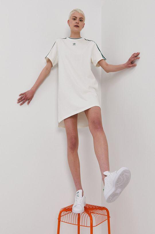 bílá adidas Originals - Šaty Dámský
