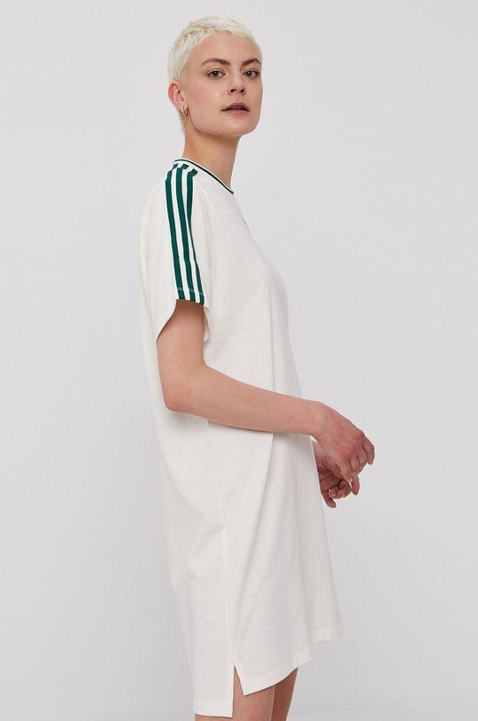 adidas Originals - Šaty bílá