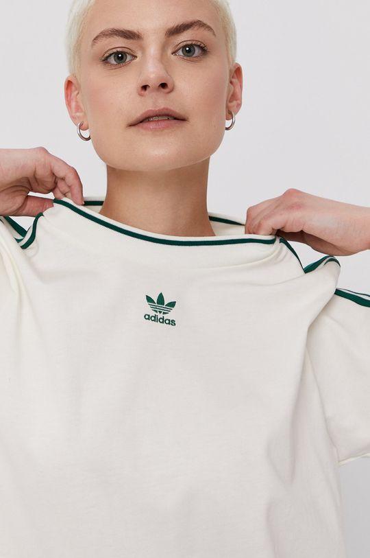 bílá adidas Originals - Šaty