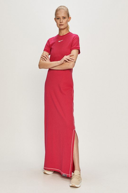 fuchsiová Nike Sportswear - Šaty Dámský