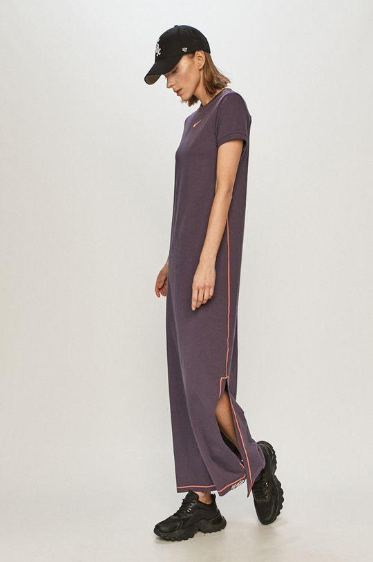purpurová Nike Sportswear - Šaty Dámský