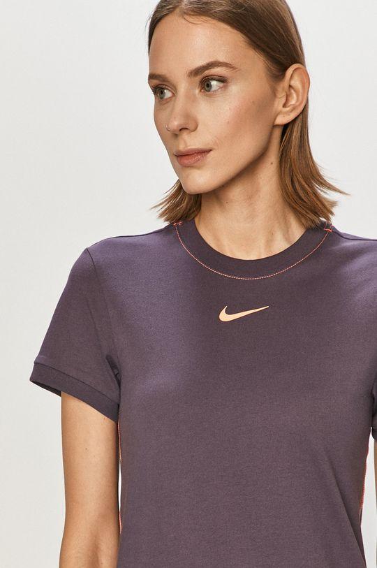 purpurová Nike Sportswear - Šaty