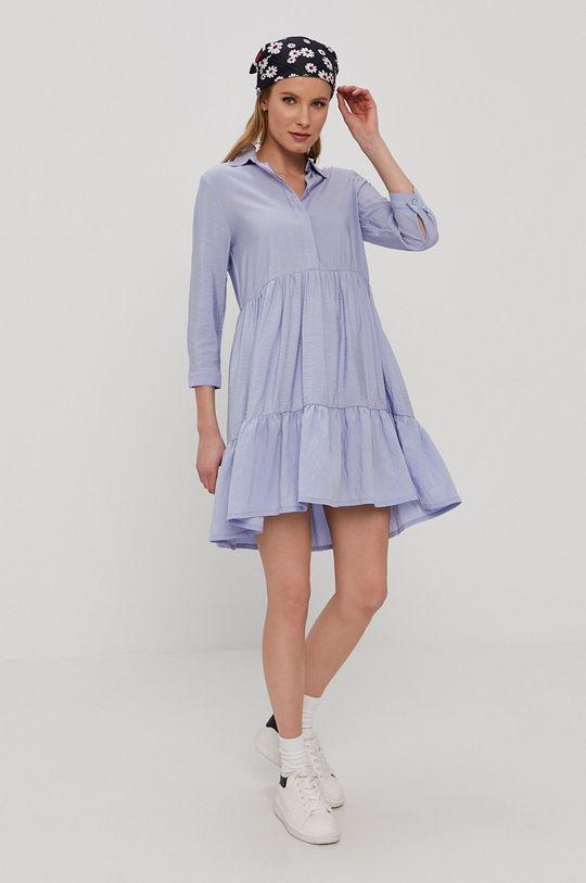 Only - Šaty modrá