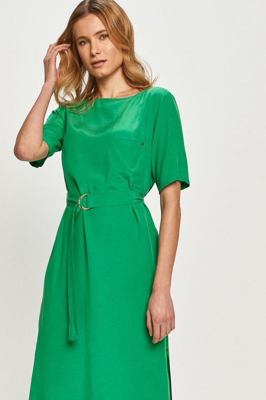 zielony Tommy Hilfiger - Sukienka