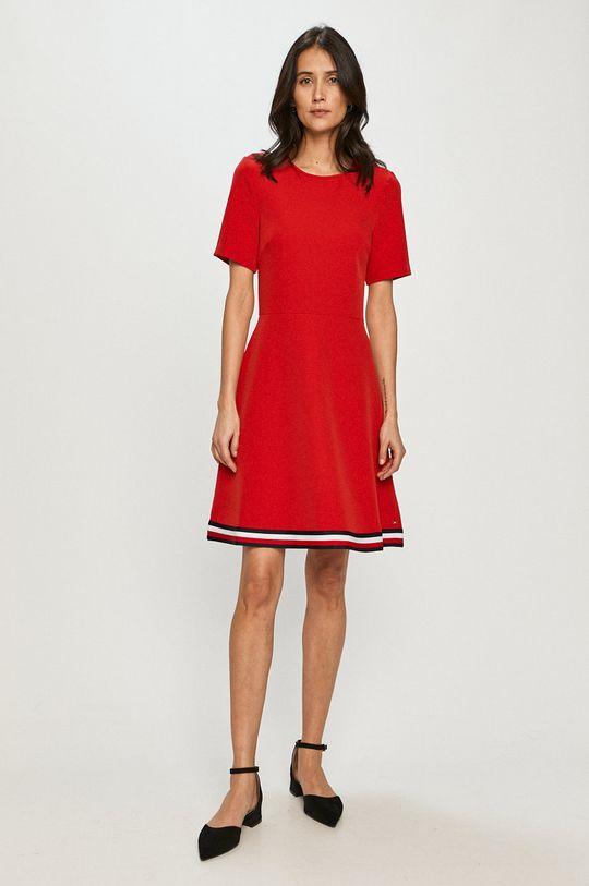 Tommy Hilfiger - Šaty červená