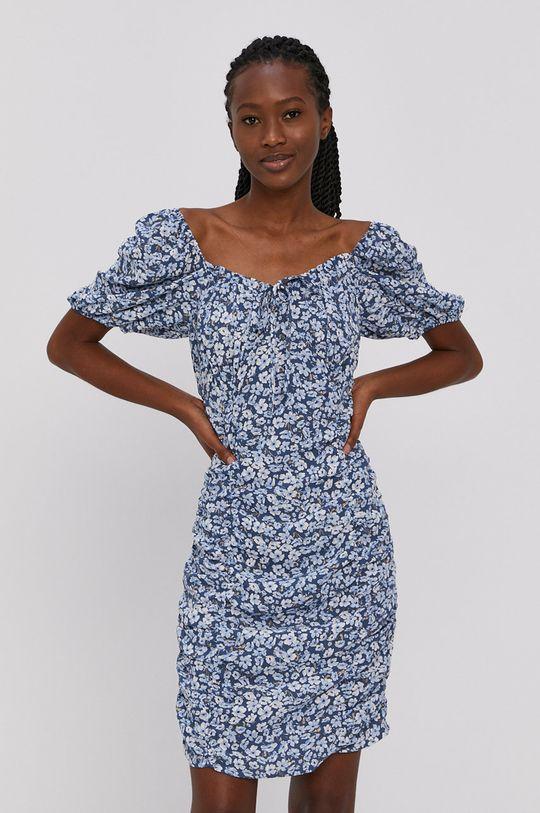 Only - Šaty oceľová modrá