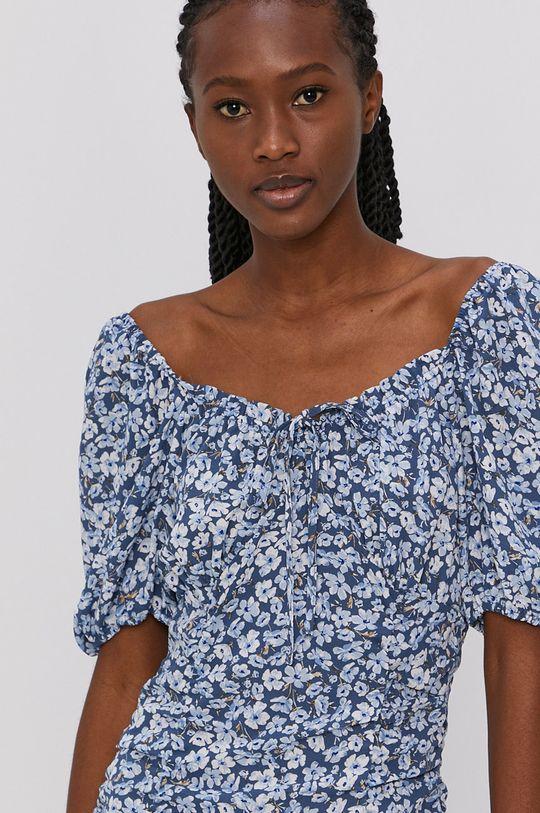 oceľová modrá Only - Šaty