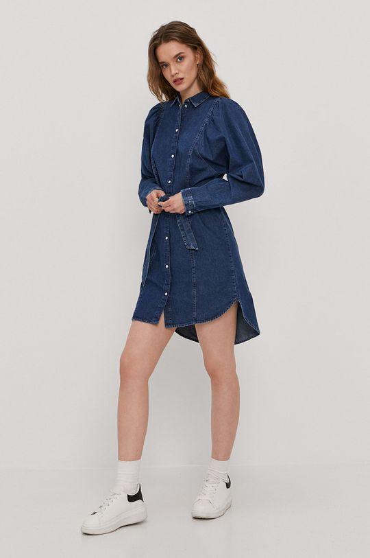 Only - Sukienka jeansowa niebieski