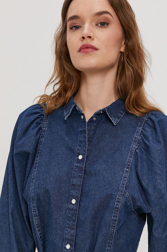 niebieski Only - Sukienka jeansowa