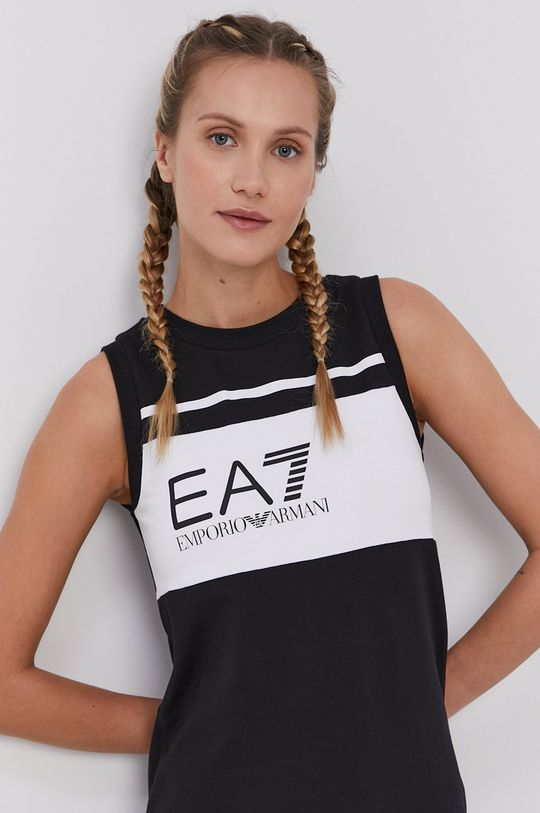 černá EA7 Emporio Armani - Šaty