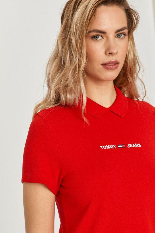 czerwony Tommy Jeans - Sukienka
