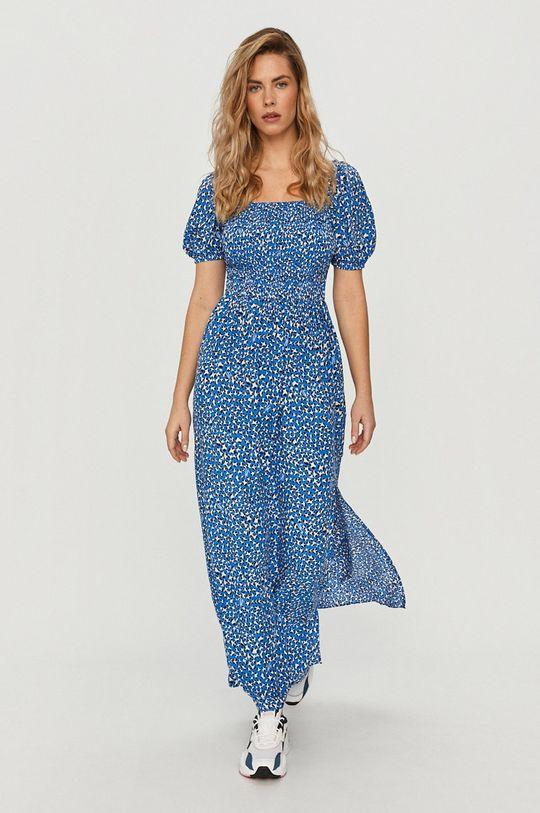 Tommy Jeans - Sukienka niebieski