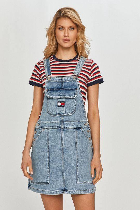 světle modrá Tommy Jeans - Šaty Dámský