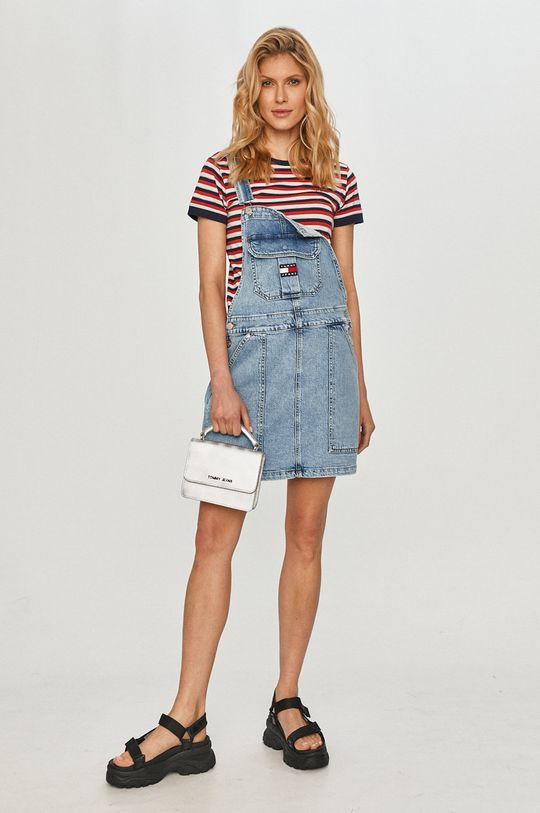 Tommy Jeans - Šaty světle modrá