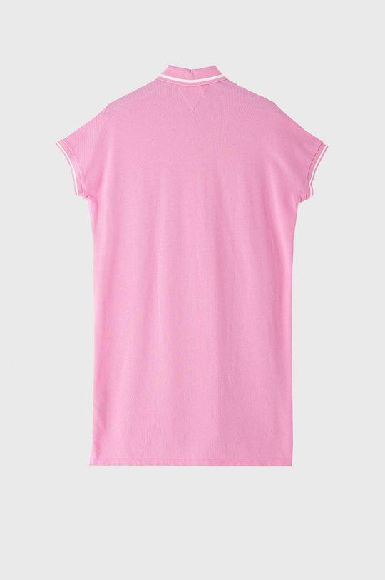 Tommy Jeans - Šaty ružová
