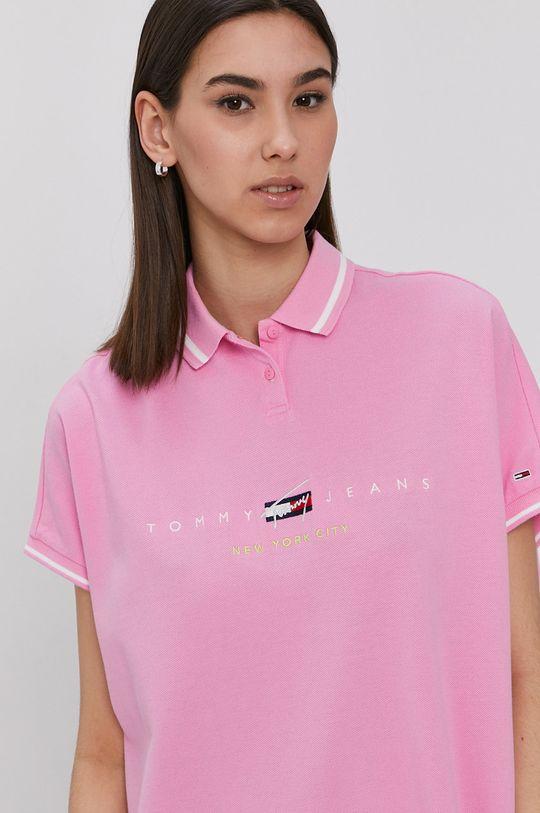 bledofialový Tommy Jeans - Šaty
