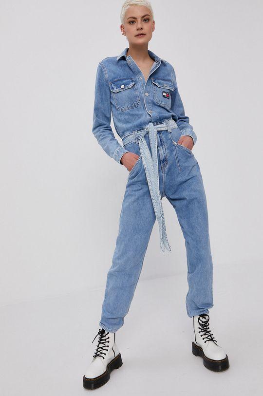 jasny niebieski Tommy Jeans - Kombinezon jeansowy Damski