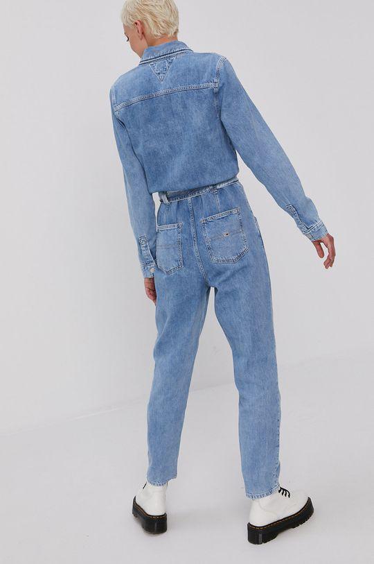 Tommy Jeans - Kombinezon jeansowy 100 % Bawełna