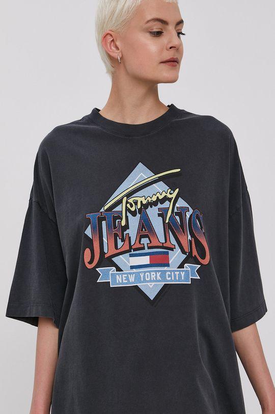 čierna Tommy Jeans - Šaty
