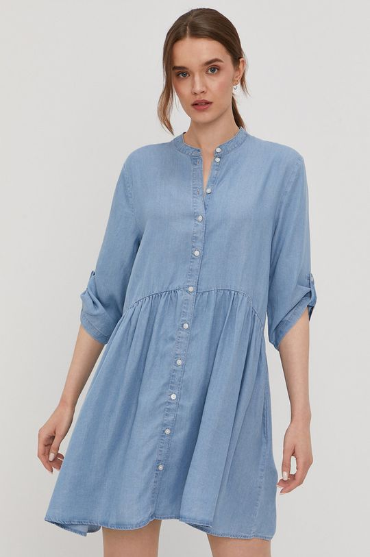 modrá Jacqueline de Yong - Šaty Dámsky