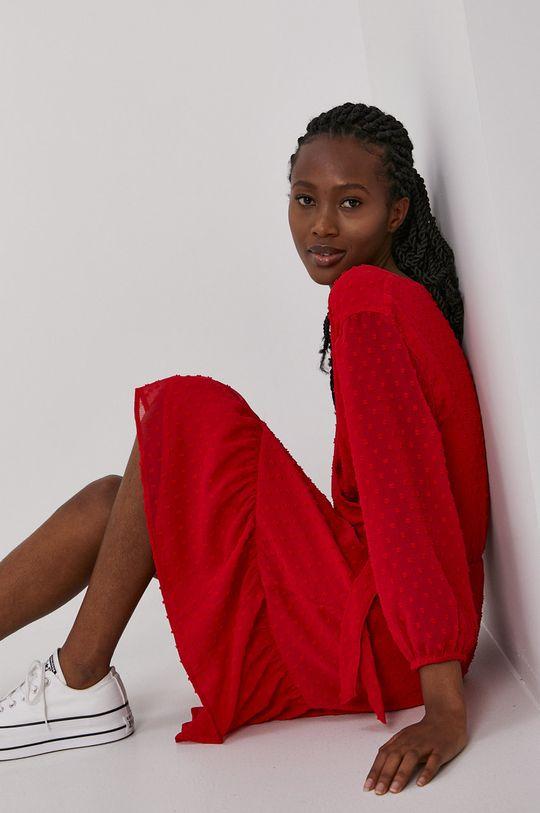 Jacqueline de Yong - Sukienka ostry czerwony