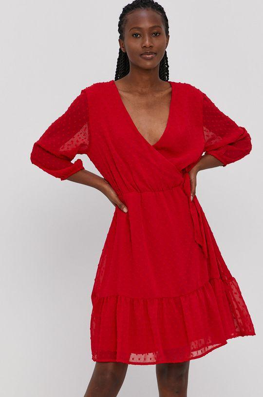 ostry czerwony Jacqueline de Yong - Sukienka