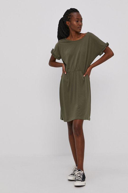 Jacqueline de Yong - Sukienka zielony