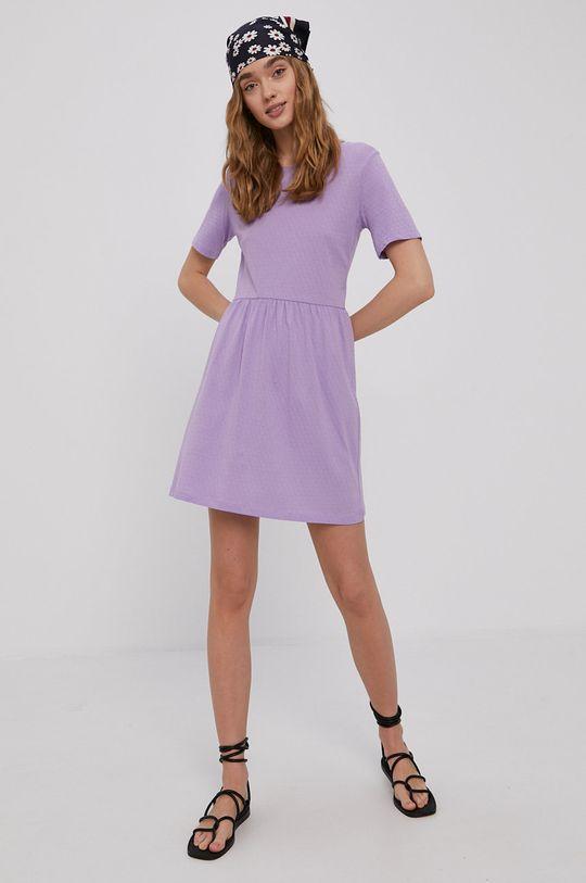 Jacqueline de Yong - Sukienka fioletowy