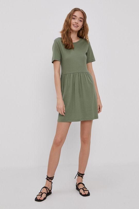 zelená Jacqueline de Yong - Šaty Dámsky